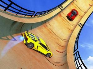 Car Sky Stunts