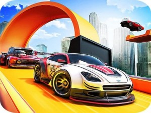 Extreme Mega Ramp Race: Ramp Stunt Car Games