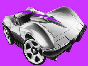 Fun Corvette Jigsaw