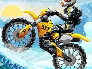 Xtreme Moto Snow Bike Racing